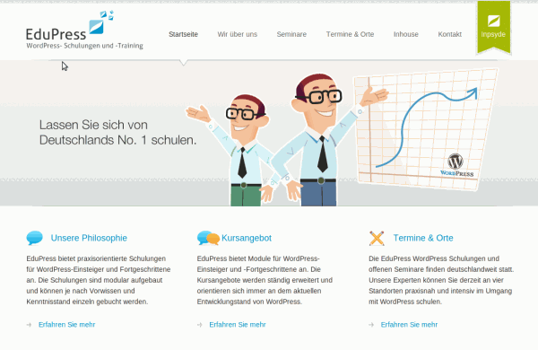 Edupress.de Screenshot der Website